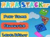 绝对好玩的堆盒子游戏papa stacker