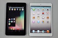 7锟斤拷平锟斤拷锟斤拷锟竭对伙拷 iPad mini锟皆憋拷Nexus 7