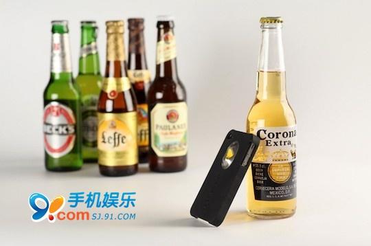 开啤酒瓶神器 iphone4保护壳