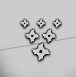 Unity粒子系统制作Shuriken(飞镖)粒子特效