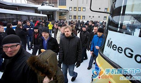 诺基亚员工离岗抗议逐步放弃塞班系统
