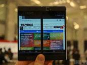 屏幕瞬间大一倍:NEC双屏手机上手视频
